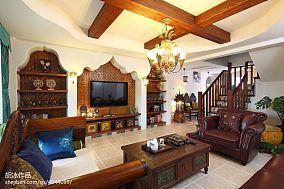 精选134平米东南亚复式客厅欣赏图