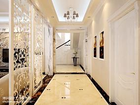 热门面积125平别墅过道欧式装修图家装装修案例效果图