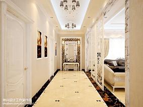 精美119平米欧式别墅过道装修设计效果图片欣赏家装装修案例效果图