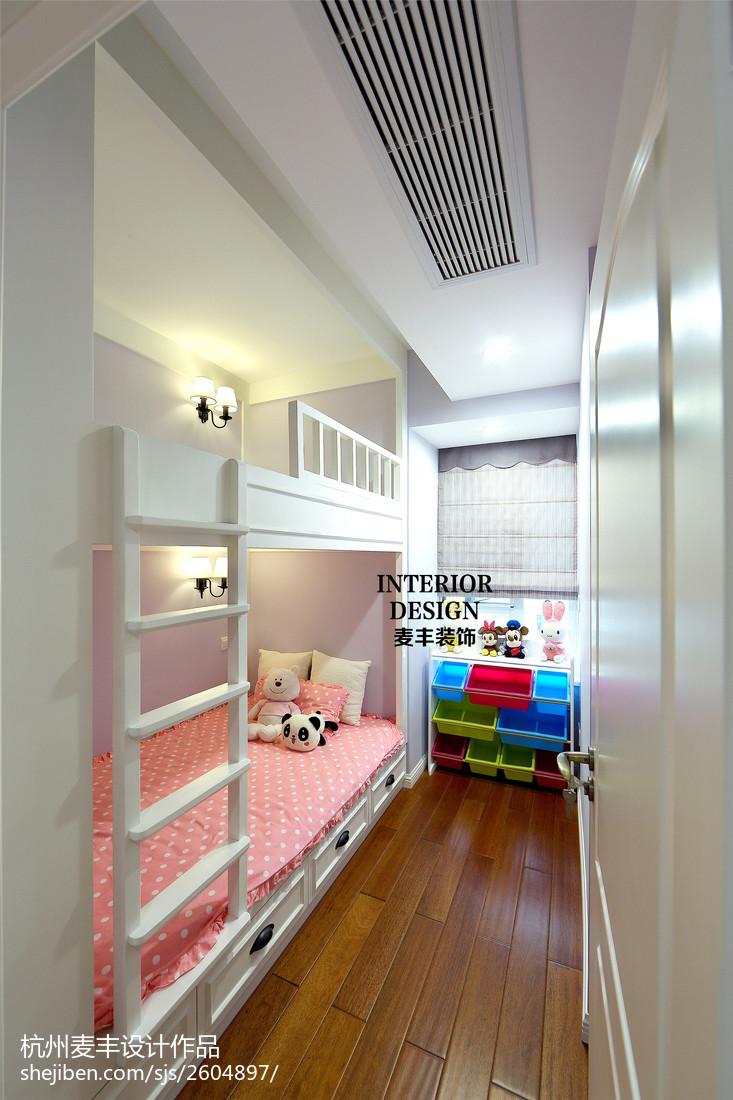 简约美式儿童房空调风口效果图卧室美式经典卧室设计图片赏析