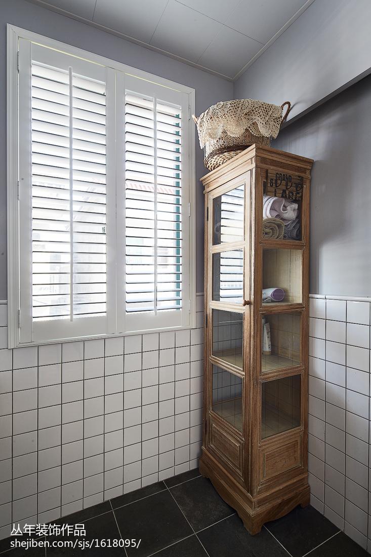 精美139平米混搭复式卫生间装修图片欣赏卫生间