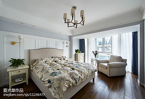 热门复式卧室美式装修图