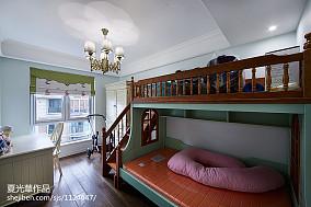 2018精选124平米美式复式儿童房装修图片欣赏