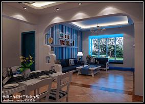 现代7平米小客厅装修