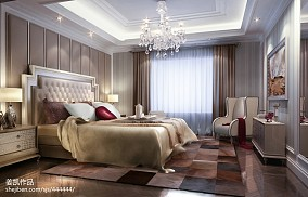 2018精选卧室欧式装修效果图片样板间欧式豪华家装装修案例效果图