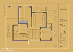 简洁330平欧式样板间客厅装修案例样板间欧式豪华家装装修案例效果图