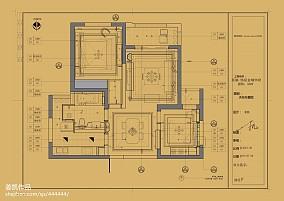典雅264平欧式样板间客厅装修图片样板间欧式豪华家装装修案例效果图