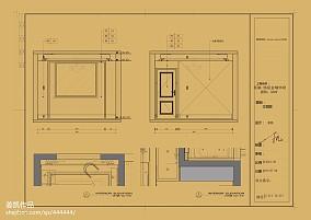 平欧式样板间客厅装饰图样板间欧式豪华家装装修案例效果图