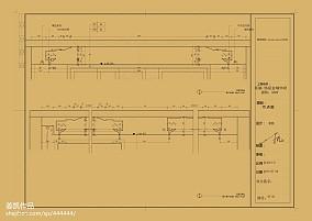 典雅307平欧式样板间客厅设计案例样板间欧式豪华家装装修案例效果图