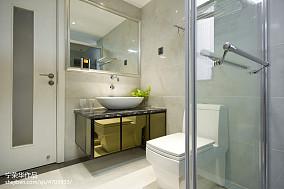 热门111平米四居卫生间现代装修设计效果图片欣赏