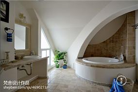 热门138平米地中海复式卫生间欣赏图片大全