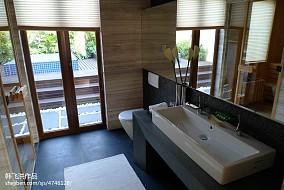 2018精选东南亚别墅卫生间效果图片欣赏