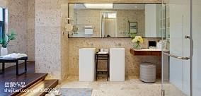 热门混搭卫生间装饰图片欣赏