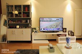 现代客厅电视柜效果图