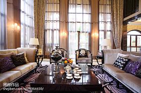 2018精选面积117平别墅客厅美式装修图片欣赏