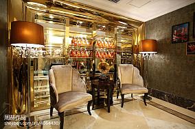 独栋别墅美式酒窖设计功能区美式经典功能区设计图片赏析