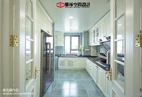 热门116平米四居厨房欧式装修实景图片