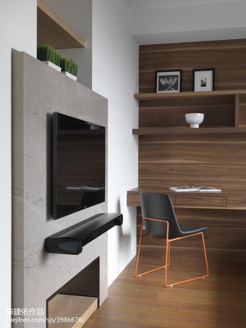 2018面积93平现代三居客厅效果图片欣赏功能区