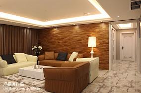 2018精选86平米二居客厅现代装修设计效果图