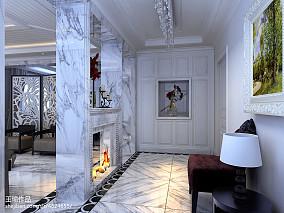 热门大小116平别墅玄关欧式装修设计效果图玄关欧式豪华设计图片赏析