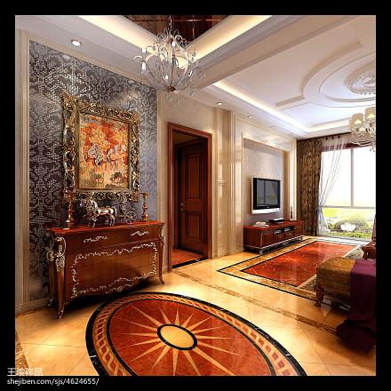 平欧式四居玄关装饰美图玄关