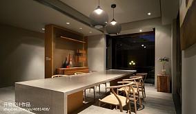 热门大小102平现代三居餐厅效果图片大全