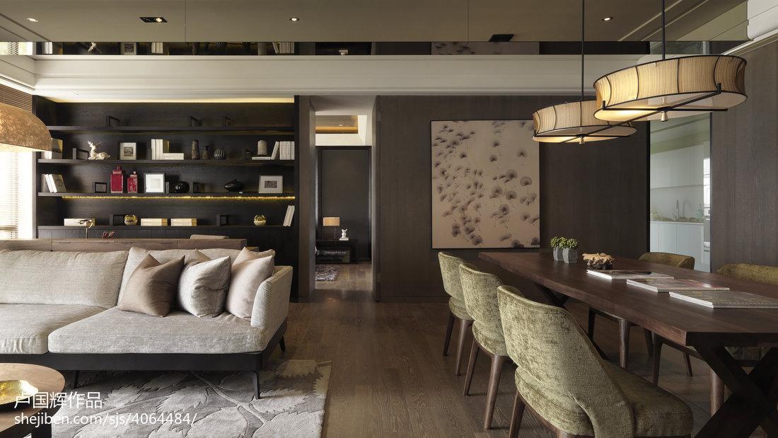 2018大小78平混搭二居客厅装修效果图客厅潮流混搭客厅设计图片赏析