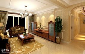 简欧式客厅灯装修效果图汇总