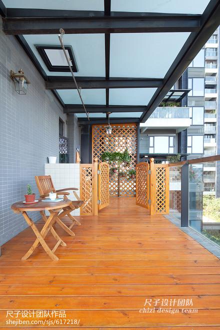 简约现代风格阳台装修效果图阳台