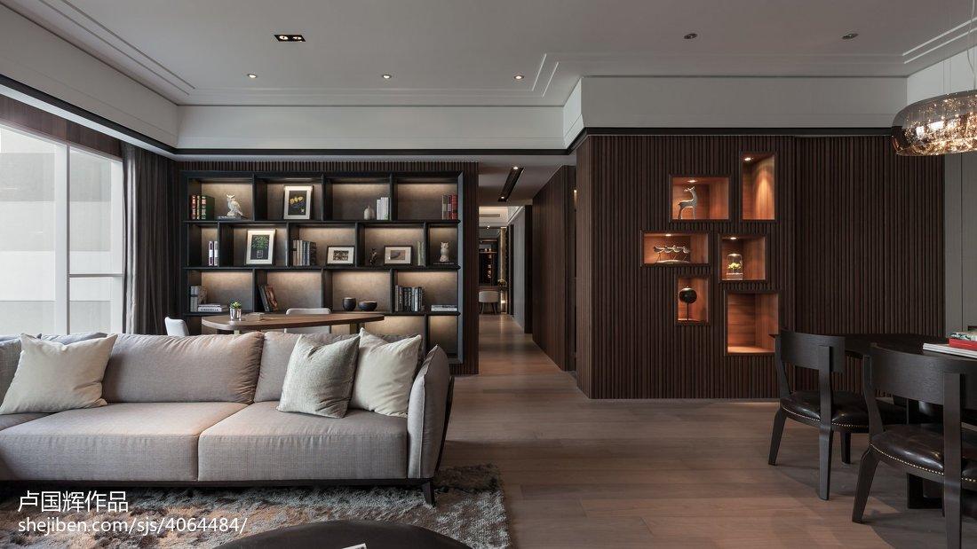 76平方二居客厅混搭装修设计效果图片大全客厅