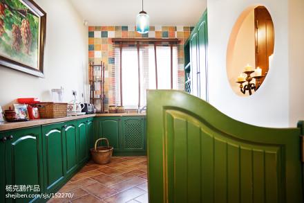 2018精选别墅厨房混搭装修效果图片欣赏餐厅