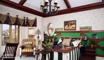 热门卧室美式实景图片欣赏