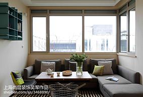 2018四居休闲区现代装修设计效果图片