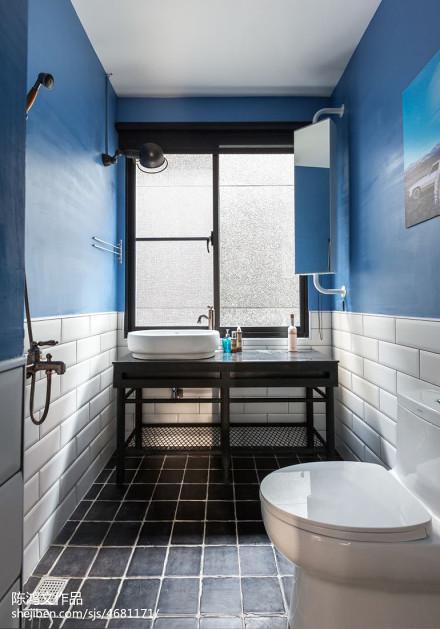 热门139平米混搭复式卫生间装饰图片卫生间