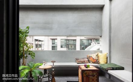 精美面积115平复式阳台混搭效果图片阳台