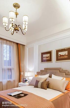 卧室吊灯现代简约
