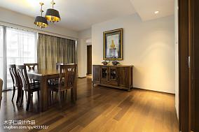 精选中式餐厅装饰图片样板间中式现代家装装修案例效果图