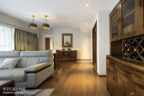 2018中式装修设计效果图片大全样板间中式现代家装装修案例效果图