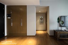 2018精选过道中式欣赏图样板间中式现代家装装修案例效果图
