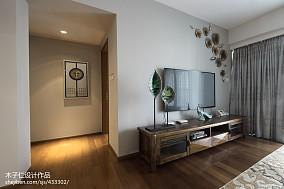 2018精选中式客厅装修图样板间中式现代家装装修案例效果图