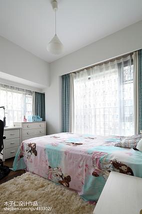 浪漫330平中式样板间儿童房图片大全样板间中式现代家装装修案例效果图