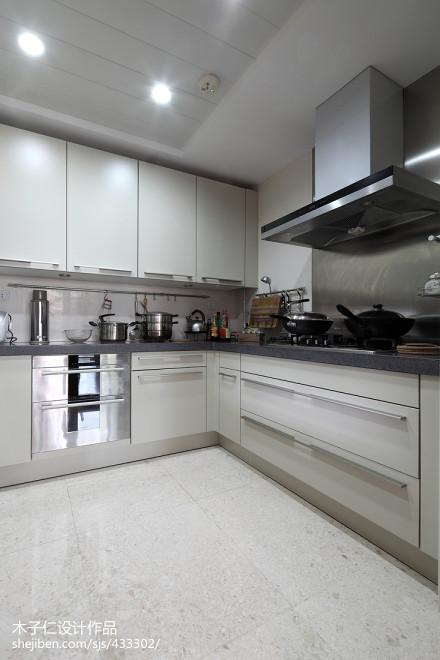 2018中式厨房装修设计效果图片餐厅1图