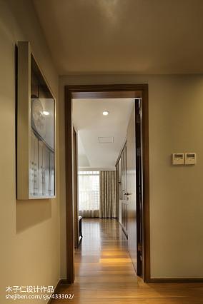 精选过道中式装修效果图片样板间中式现代家装装修案例效果图