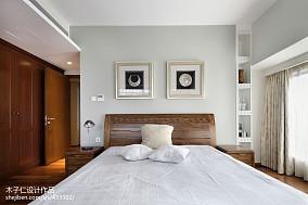 大气270平中式样板间卧室装饰图片样板间中式现代家装装修案例效果图