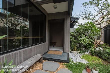 2018精选117平米混搭别墅花园装修设计效果图片大全功能区