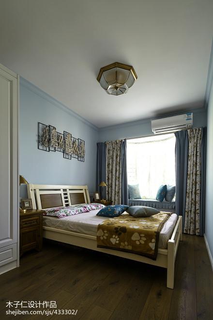 精美田园卧室装修图片欣赏卧室