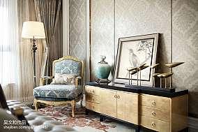 质朴268平现代样板间客厅装饰美图