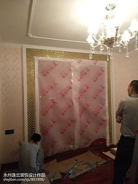 精美95平方三居卧室现代装修实景图