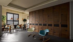 热门118平米四居休闲区美式装饰图片大全