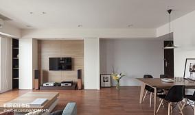 2018混搭客厅二居设计效果图二居潮流混搭家装装修案例效果图